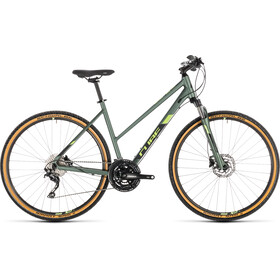 Cube Nature EXC Hybrid Bike Trapez green